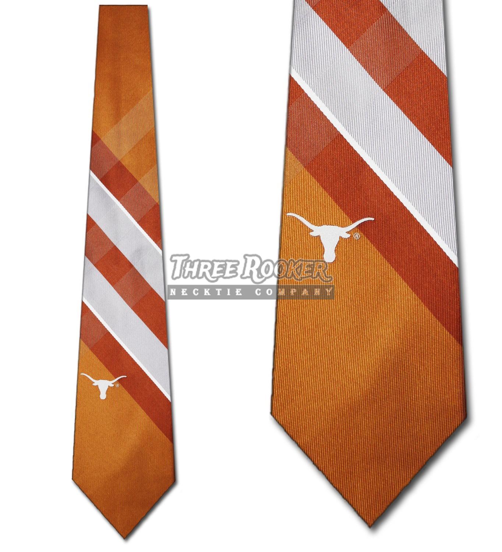 Longhorns Tie University of Texas Longhorns Neckties Licensed Mens Neck Ties NWT