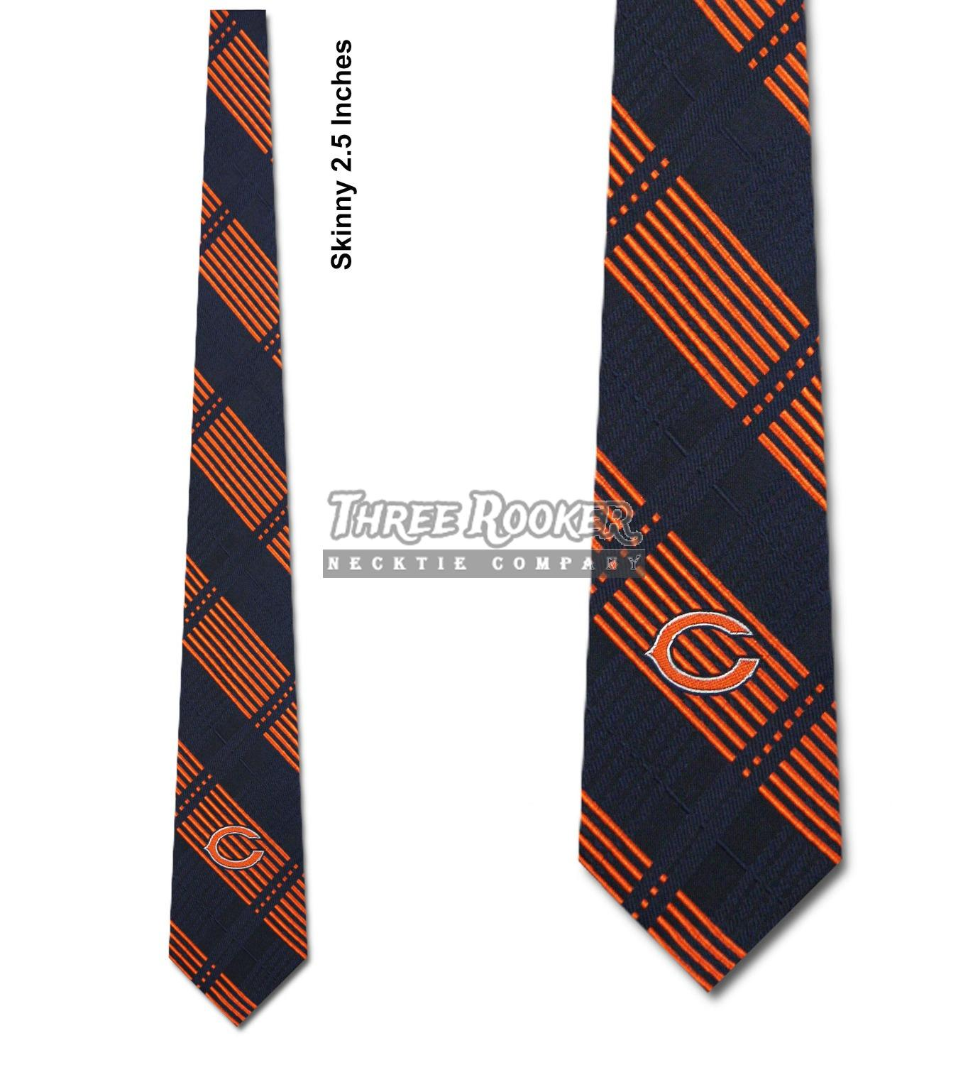Hot NFL Chicago Bears Repeated Logo Bow Tie Fan Shop Navy Blue Eagles Wings  for sale