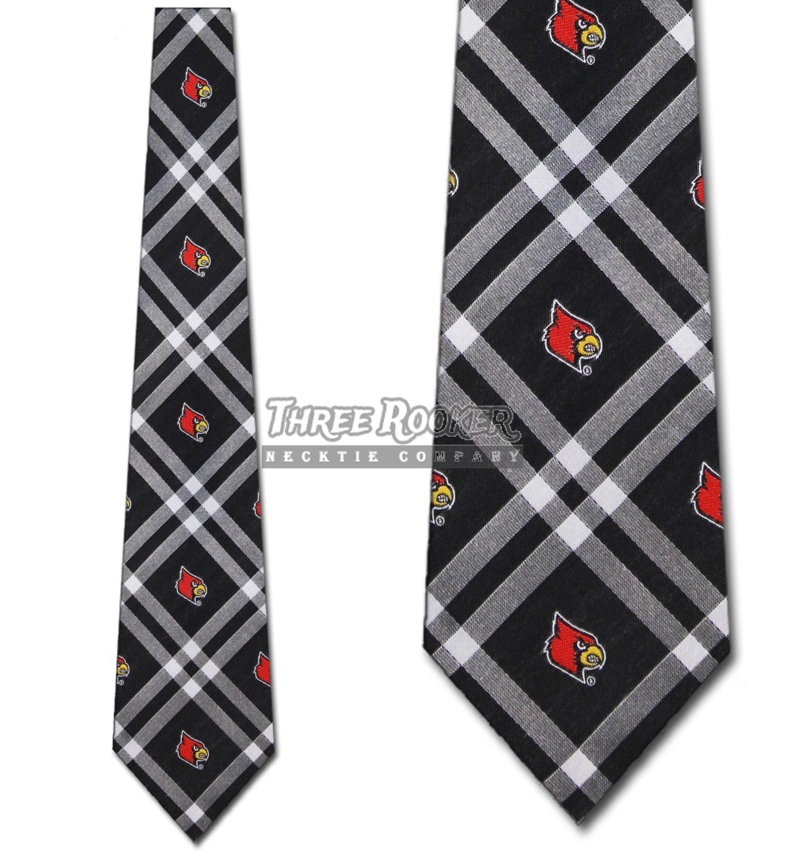 Louisville Cardinals Ties Mens Cardinals Necktie Licensed Neck Tie NWT