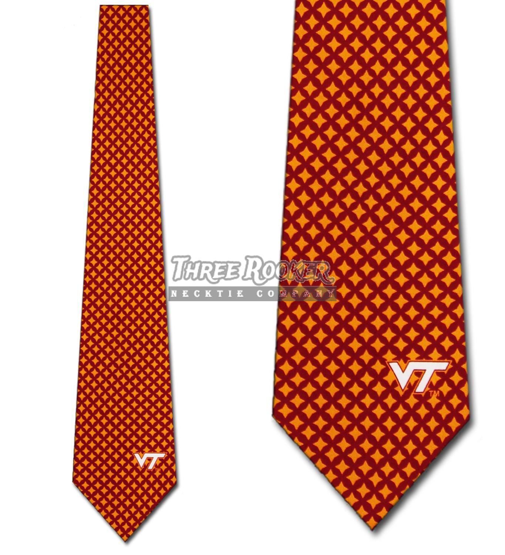 Virginia Tech Hokies Bow Ties FREE SHIPPING Pretied Hokies Bow Tie NWT