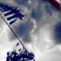 World War II - Patriotic Symbols Navy Necktie