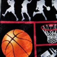 Basketball Squares Necktie