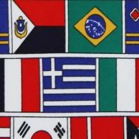 World Flags Allover Necktie