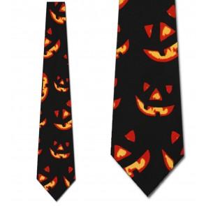 Glowing Jack-o-Lanterns Necktie