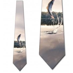 Fish Out of Water Necktie