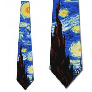 The Starry Night Necktie