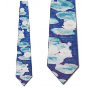Water Lillies Necktie