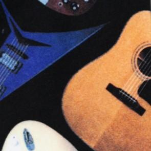 Guitars II Necktie