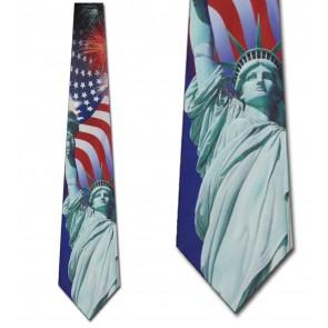 Liberty Collage Necktie