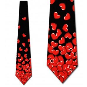 Falling Hearts Necktie