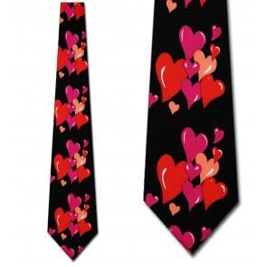 Hearts Grouped Necktie